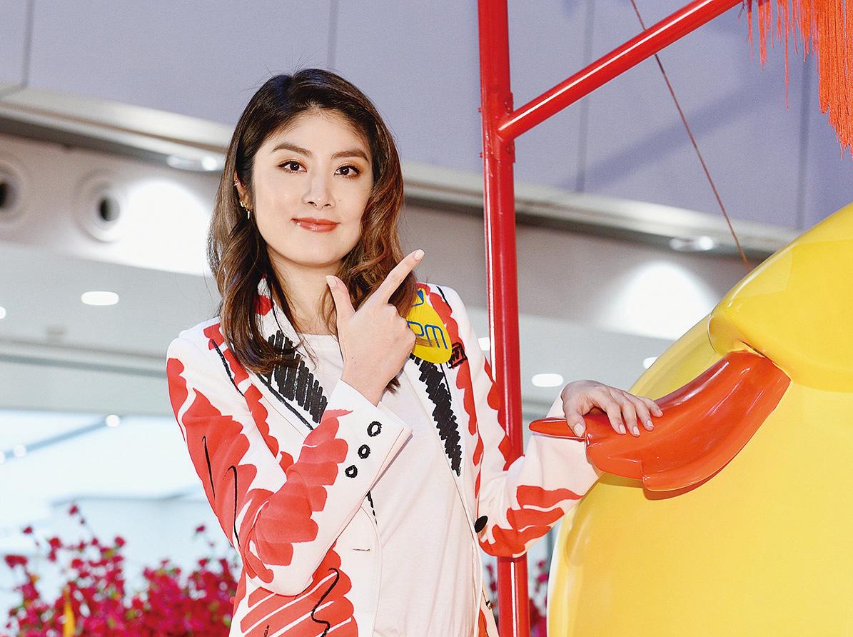 陳慧琳表示正積極籌備明年入行25周年演唱會。(宋碧龍╱大紀元)