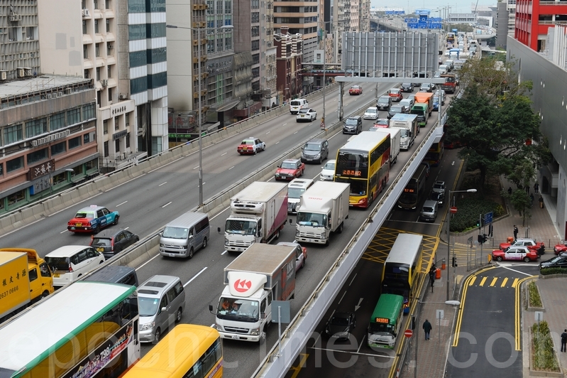 繞道被指未能紓緩交通