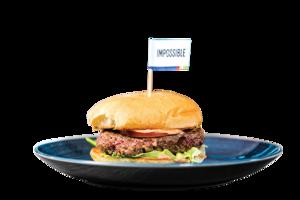 高科技素肉漢堡像牛肉