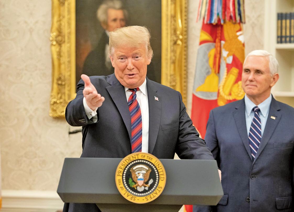 特朗普宣布保護「夢想生」以交換邊界牆經倍的折衷方案。(Getty Images)