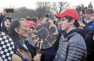 高中生挑釁原住民長老?美媒反特朗普不實報道挨轟