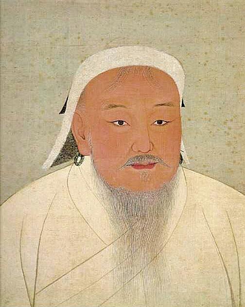 七百多年前,由成吉思汗一手締造的大蒙古國已是有信仰自由、言論自由、執行法制等高度文明國度。圖為國立故宮博物院藏元太祖成吉思汗像。(公有領域)