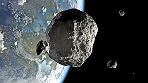 自恐龍時代至今 小行星撞地球頻率增加