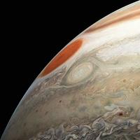 NASA照片顯示木星上有超級風暴