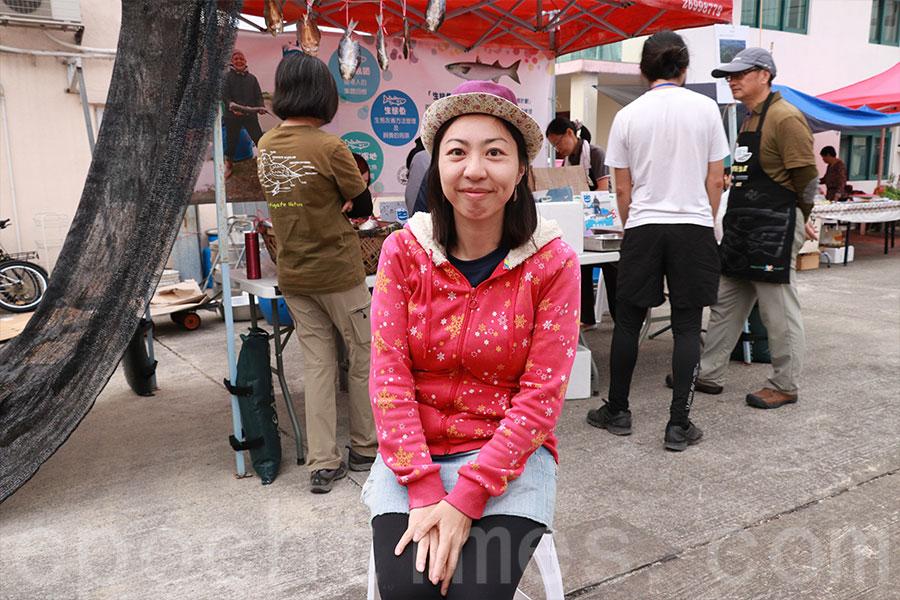 香港觀鳥會助理經理陳燕明(Christina)。(陳仲明/大紀元)