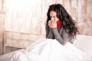 研究─睡眠不足 感冒機率增4倍