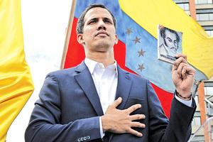 委內瑞拉變天議長任臨時總統