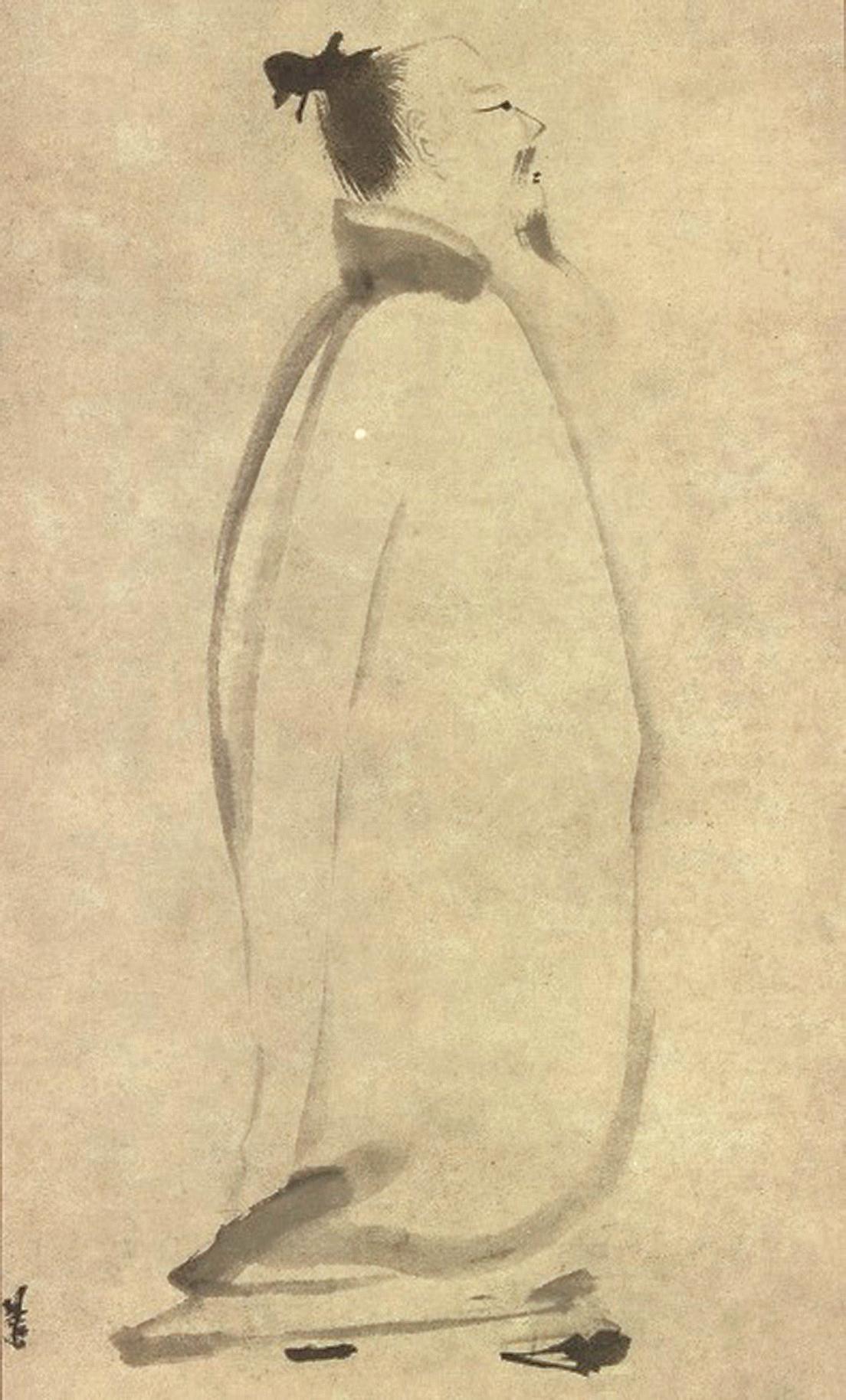 李白姿容俊秀,骨格清奇,擁有飄然出世的外表(公有領域)