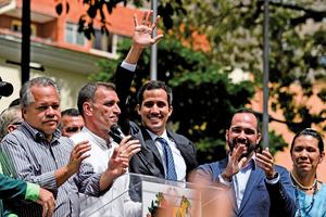 委內瑞拉變天 國會領袖組臨時政府
