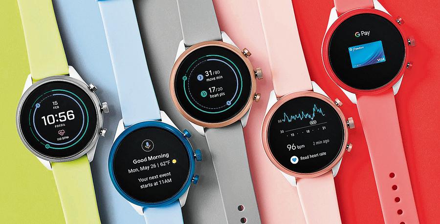谷歌致力智能手錶 對抗蘋果