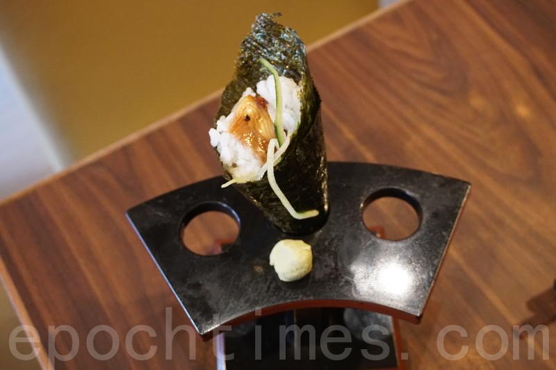 鰻魚手卷。