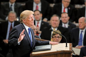 特朗普二月五日發表國情咨文