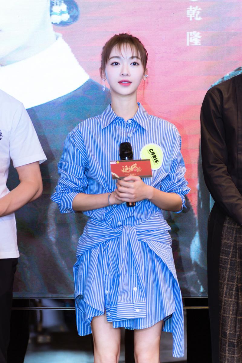 吳謹言因《延禧攻略》一劇令她在香港的人氣爆升。(資料圖片)