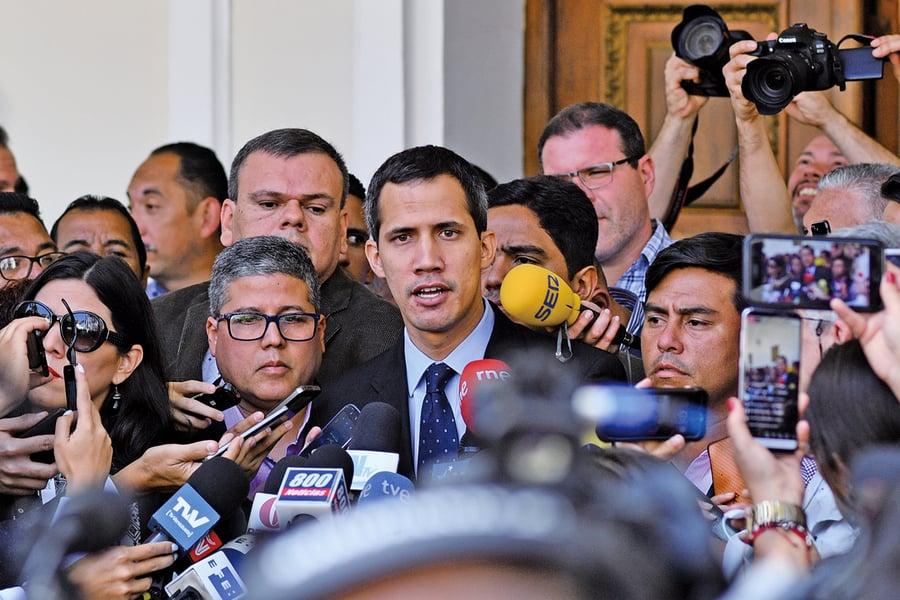 美國警告委內瑞拉馬杜羅 打擊瓜伊多將面臨嚴重後果