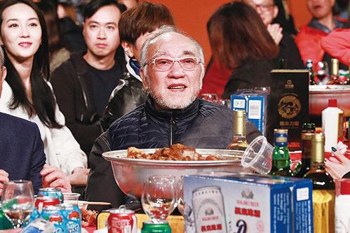 藝人盧海鵬出席亞視台慶盛宴。(陳仲明/大紀元)