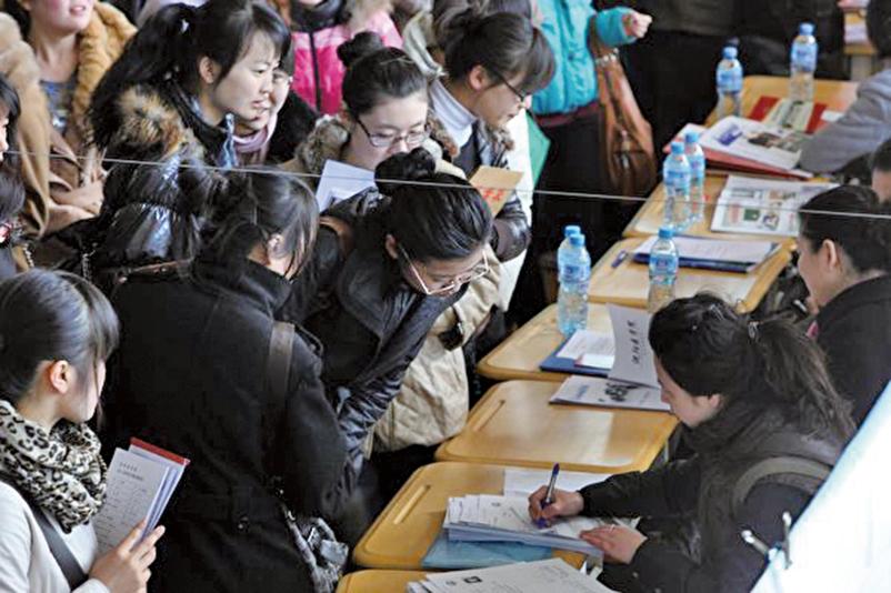 北大清華畢業生 就業率連降五年