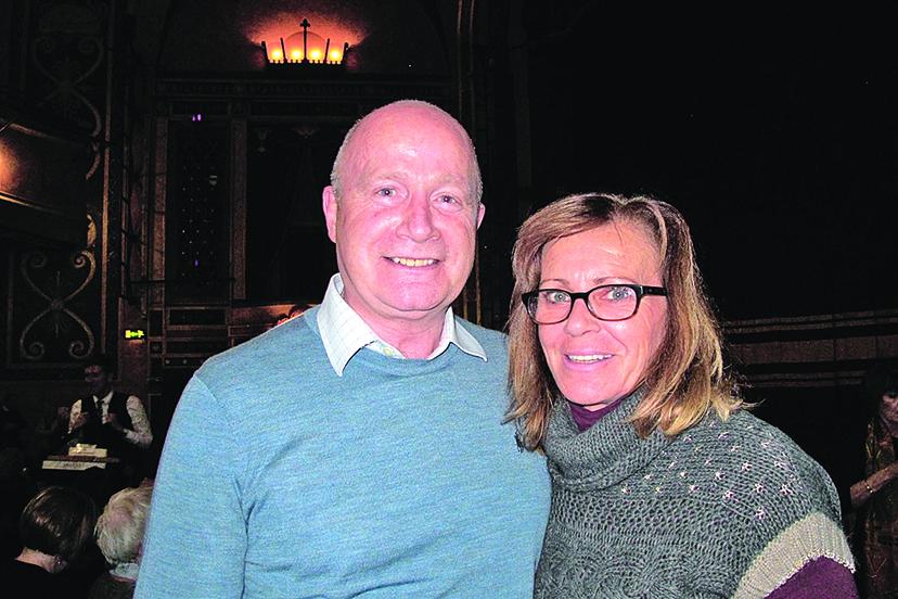 Keith Collett先生和太太。(麥蕾/大紀元)