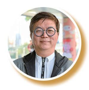 香港紫微斗數師蔣匡文。(宋碧龍/大紀元)
