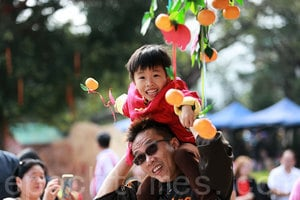 林村香港許願節 遊客體驗傳統節日
