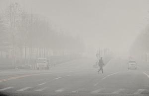 大年初一 大陸116城市現重度空污