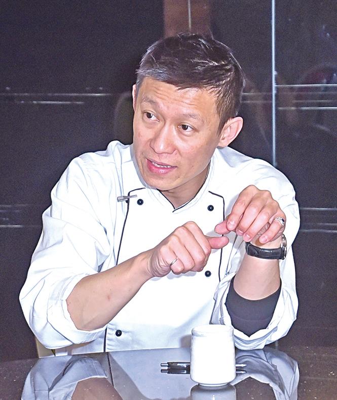 福容大飯店行政主廚王添滿希望分享食譜,讓想做菜的人學習。