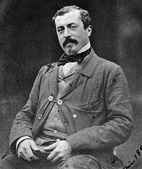 華萊士爵士(Richard Wallace, 1857)。(資料圖片)
