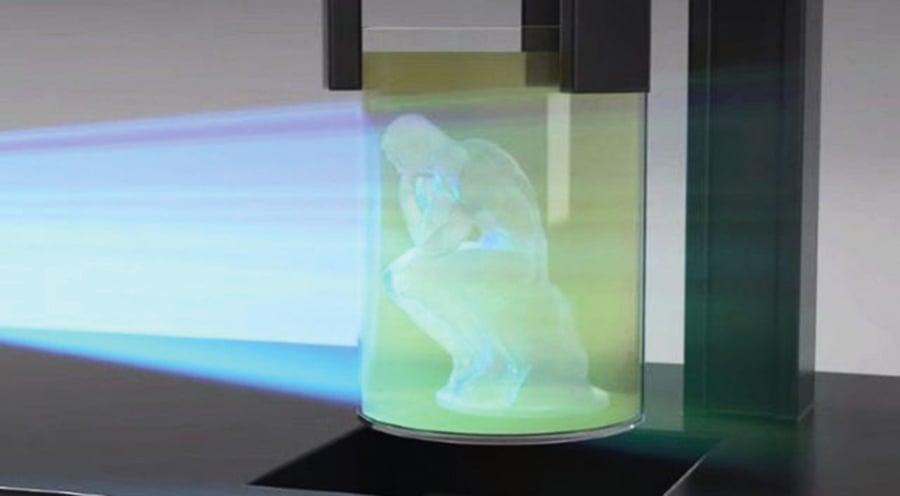 3D打印太慢  3D複製機問世