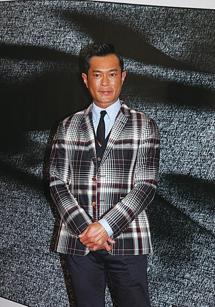 古天樂任嘉賓出席宣佈第38屆香港電影金像獎入圍名單活動。(網絡圖片)