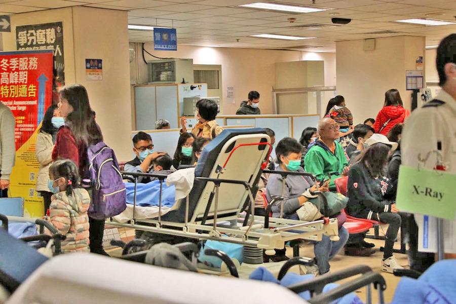 流感死亡人數增至181人 病房使用率稍回落