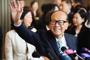 李嘉誠連續21年榮登香港首富