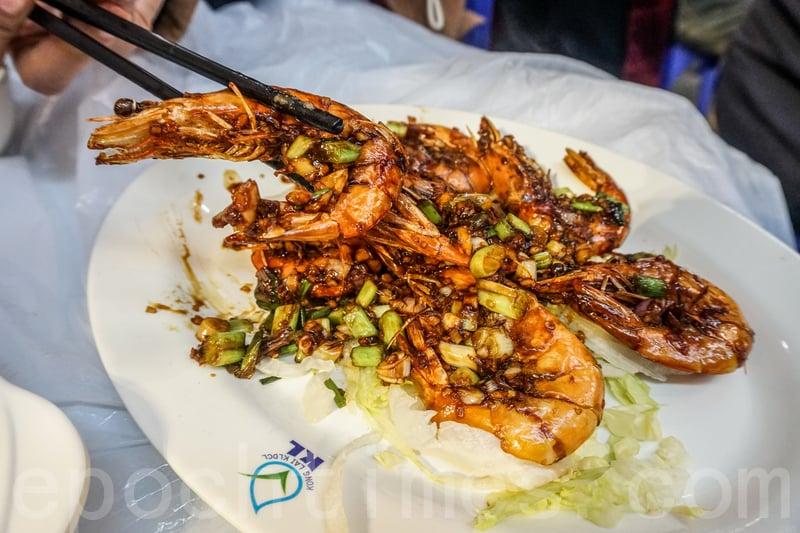 豉油皇中蝦味道出色,可惜蝦不大,有幾隻還比較小。