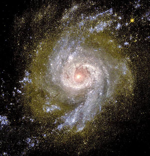 宇宙之中普遍存在自轉現象。(NASA/Getty Images)