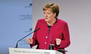 彭斯慕尼黑講話 敦促歐盟制裁伊朗