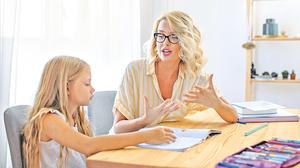 家長如何與孩子談論 學校成績報告單