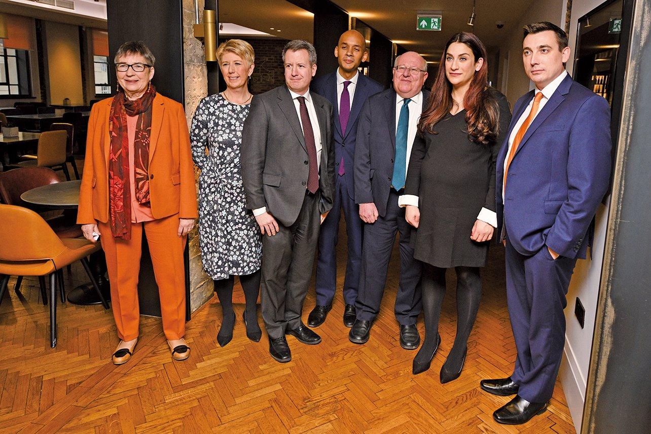 2月18日(周一),英國政壇爆出驚人消息,7名工黨國會議員退出工黨,並宣佈要組成一個新的獨立政治團體。(Getty Images)
