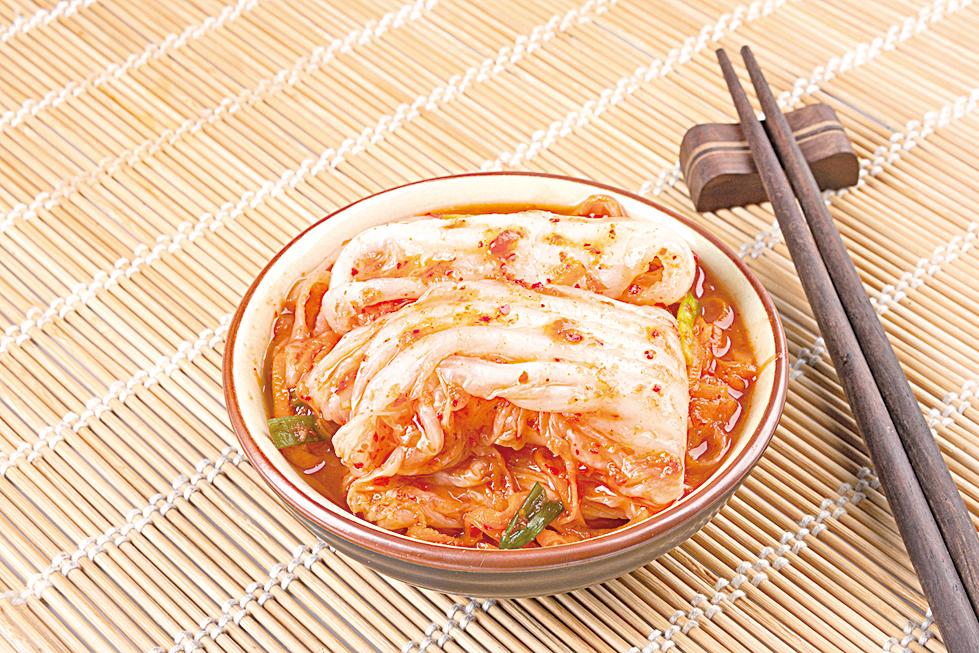 泡菜在發酵過程中能產生一種對人體有益的乳酸菌。