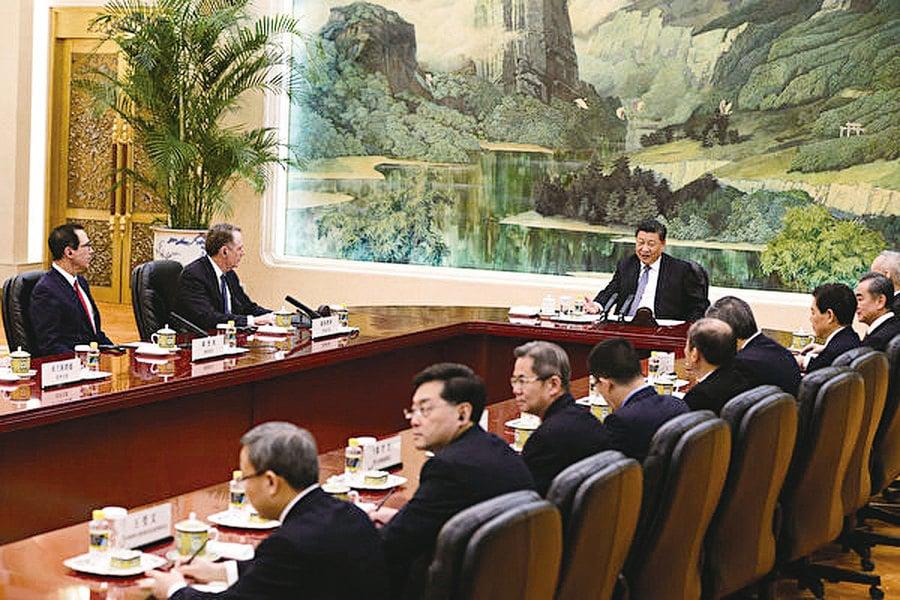中美貿易談判終局遙遠