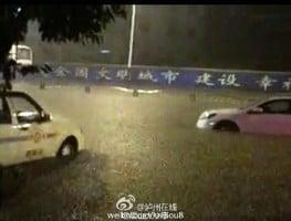 湖北四川福建暴雨致洪災 川黔鐵路爆泥石流