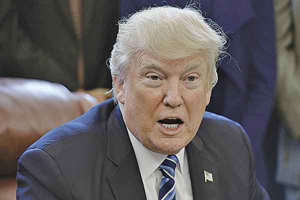 美國總統特朗普表示,若北韓就無核化採取「有意義」的行動,他樂意解除制裁。(Getty Images)