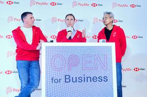 滙豐推商用版PayMe  「百分百香港研發」