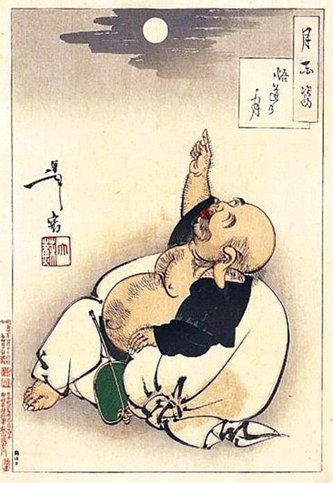 豁達心胸,也能笑口常開(wikimedia commons)