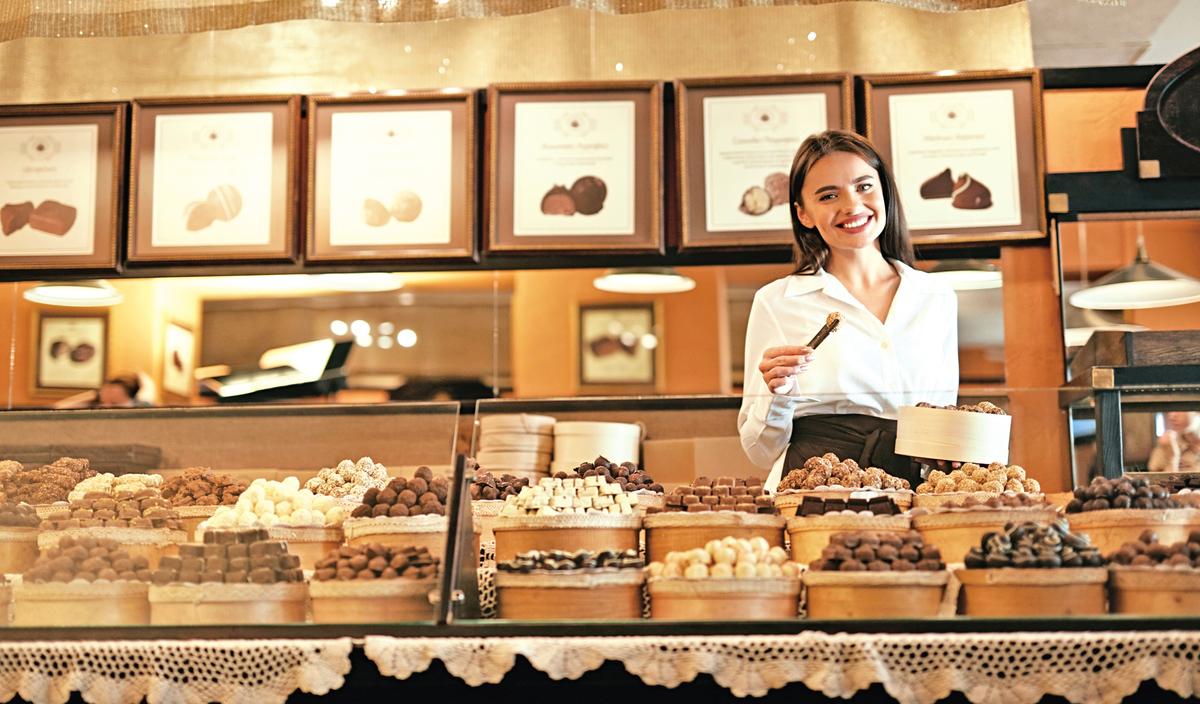 朱古力廣受大眾喜愛,世界各地都有朱古力專賣店。