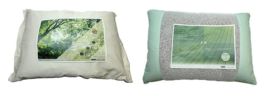 Joseph引入的日本製Moon Viella枕頭系列,採用透氣空心管粒,配合不同功能性的材料,包括有清涼、鬆弛效果的綠茶枕;具按摩、防蟲功能的檜木枕;祛濕除臭的備長炭枕,還有鎮痛功能的電氣石枕等。