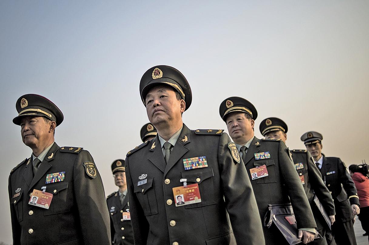 軍方人士爆出驚人消息,涉及房峰輝案的軍隊人員達300多人。(Getty Images)