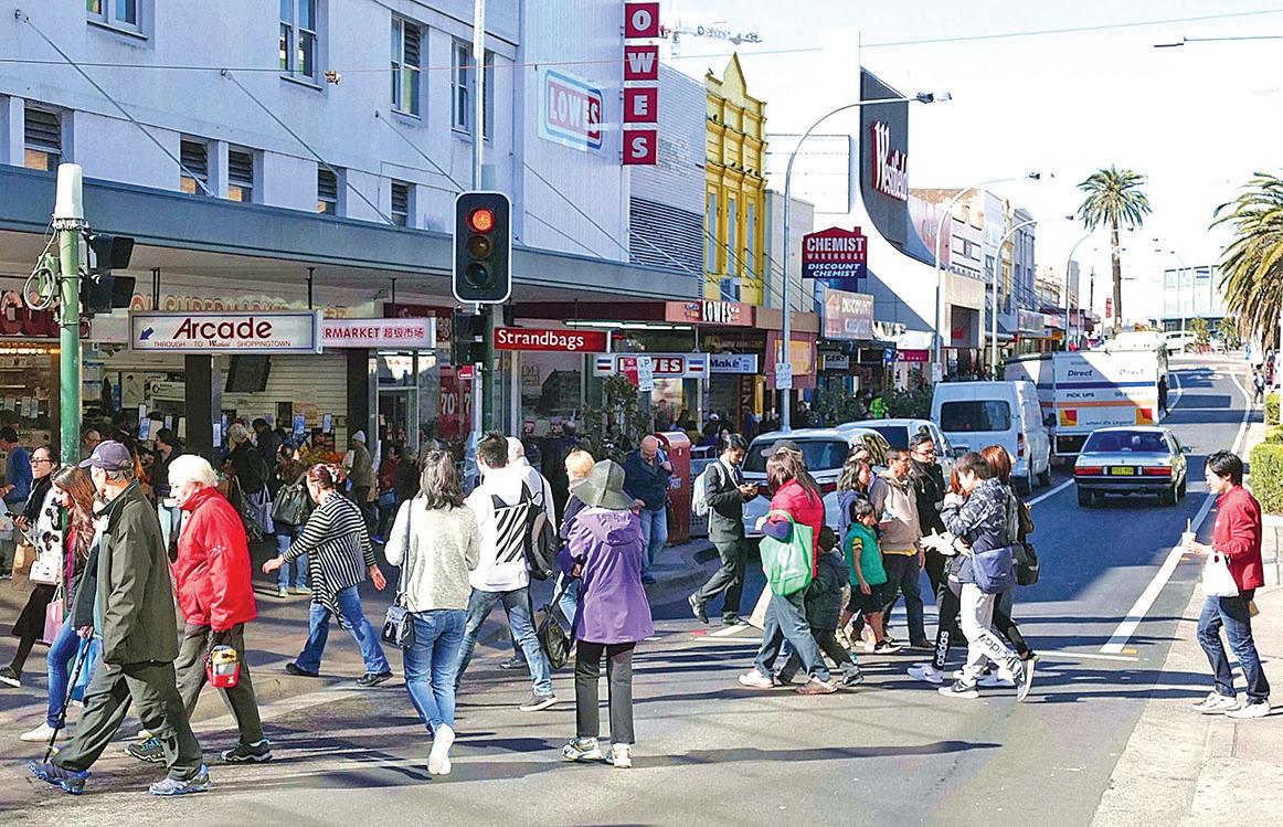悉尼華人重鎮好市圍。(安平雅/大紀元)