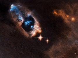 NASA拍到深空神祕藍色天體照片