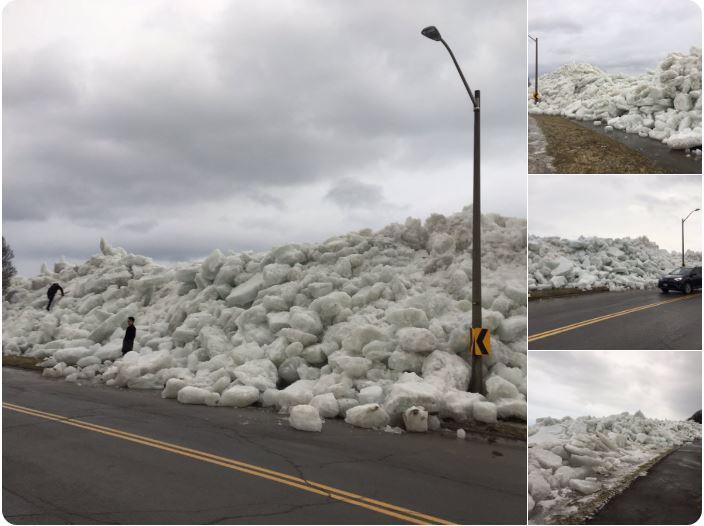 強風襲擊美東 60萬戶斷電 出現冰海嘯