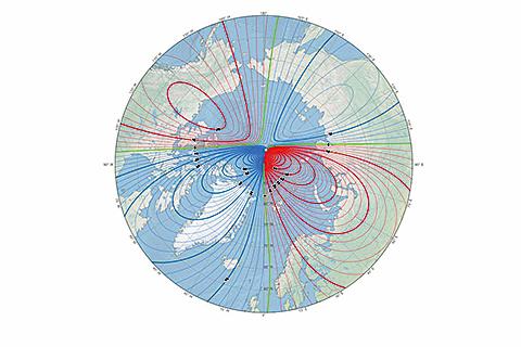 地磁北極向俄快速漂移 全球磁場模型提前更新