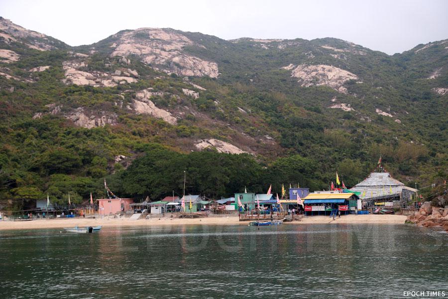 蒲台島。(陳仲明/大紀元)