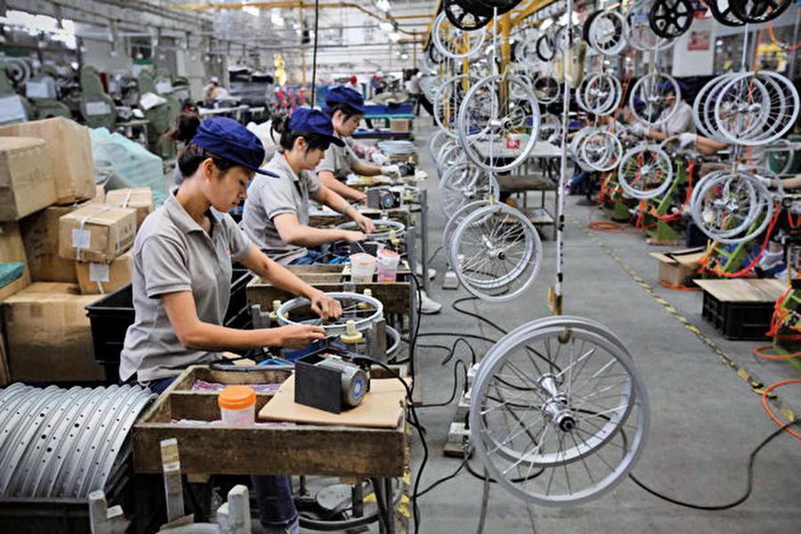 美國知名單車商 生產線遷出中國